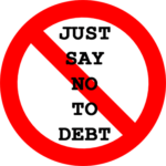 broke and need money fast - just say no to debt