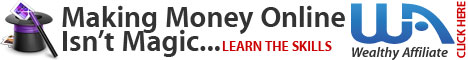 Wealthy Affiliate - Learn How To Make Money Online
