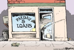pay day loans - just over broke